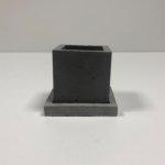кашпо куб с подставкой